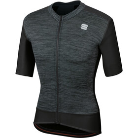 Sportful Supergiara Maillot de cyclisme Homme, black/black